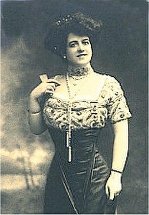 Zélie de Lussan - Zélie de Lussan, circa 1890