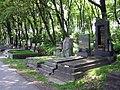 Zentralfriedhof Grabreihe 2.JPG