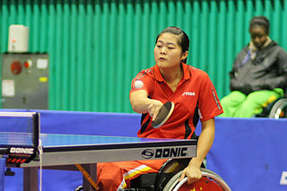 Zhou Ying (table tennis) Chinese Paralympic table tennis player