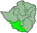 Zimbabwe Provinces Matabele South 250px.png