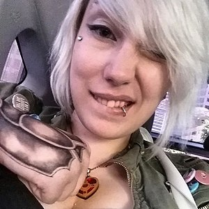 Gamergate controversy - Game developer Zoë Quinn, the initial target of the harassment campaign