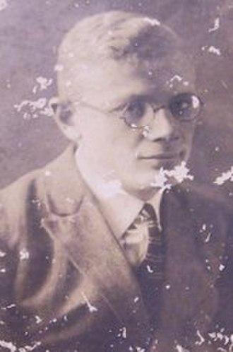 Petrus Josephus Zoetmulder - Zoetmulder, about twenty - thirty years old