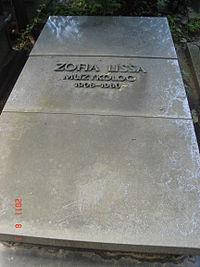 Zofia Lissa grób.JPG