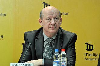 Serbian presidential election, 2012 - Image: Zoran Stanković MC