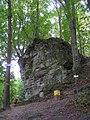 """""""Скеля Тимоша"""" у Крехівського монастиря.JPG"""