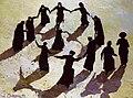 """Jewish Dance"" by Alexandr Onishenko, 1999.jpg"
