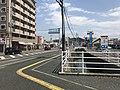 """Karatsu-Kaido"" Road and canal near Imajuku Station.jpg"