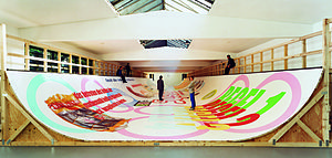 "Michel Majerus - ""if we are dead, so it is"", Installation view, Köllnischer Kunstverein, Cologne"