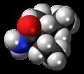 (R,R)-Valnoctamide molecule spacefill.png