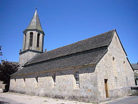 The church in Marcillac-la-Croisille
