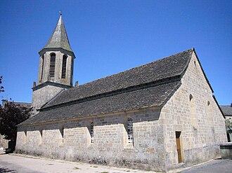 Marcillac-la-Croisille - The church in Marcillac-la-Croisille