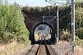 Ōsuna-gawa rail tunnel west portal 01.jpg