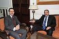 Συνάντηση ΥΠΕΞ κ. Δ. Δρούτσα με τον ΥΠΕΞ του Ισραήλ κ. A. Liberman - FM D. Droutsas meets with Israeli FM A. Liberman (5348594007).jpg