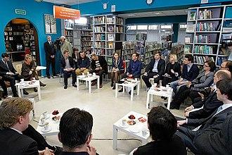 Anton Nossik - In 2011 Russian President Dmitry Medvedev met with representatives of the Russian internet community, including Anton Nossik.