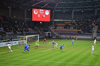 Borisov Arena - Image: Вікісустрэча на футболе Беларусь — Украіна (2014) 008