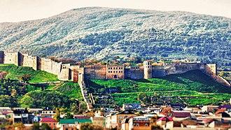 Sasanian defense lines - The walls of Derbent