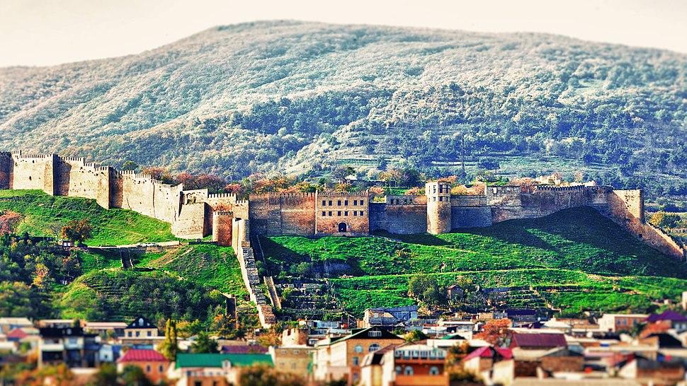 Derbent Walls, late Sassanian period