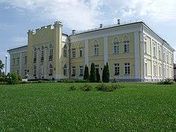 Крычаўскі палац XVIII ст. Фасад (здымак 2012 год).jpg