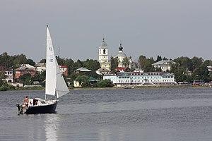 Myshkin (town) - View of Myshkin