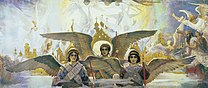VASNETSOV Viktor Central Panel from the Threshold of Paradise Triptych, 1885-96