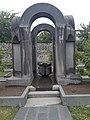 Հուշարձան հայրենիքի համար զոհված հայորդիներին, Գորիսի Սբ. Գրիգոր Լուսավորիչ եկեղեցի.jpg