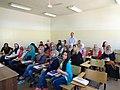 مجموعة عمل الطلبة ضمن برنامج اللغة الروسية في الجامعة الاردنية 04.JPG