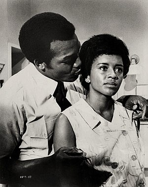 Jim Brown - Brown and Janet MacLachlan in ...tick...tick...tick... (1970)