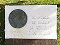01 Placa en record d'Alexandre de Riquer, pl. dels Arbres (Calaf).jpg