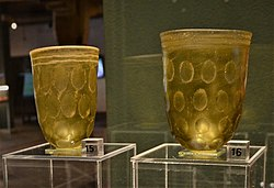 02019 0574 (2) Glass beakers from a graves found in Pomerania, Witkowice, Borkowice, second half of the 4th c.jpg