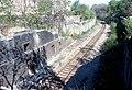 050R12000579 Vorortelinie, Haltestelle Unterdöbling, von Brücke Döblinger Hauptstrasse Blick Richtung Heiligenstadt.jpg