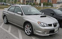 2006 2007 Subaru Wrx Sedan Us