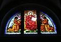 069 Santa Maria de Camprodon, capella dels Dolors, vitrall.JPG