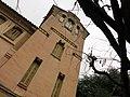 097 Casa Barbey, torre, façana est (la Garriga).JPG