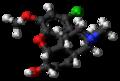 1-Chlorocodeine molecule ball.png