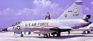 147th Reconnaissance Wing - 111th Fighter Interceptor Squadron Convair F-102A-65-CO Delta Dagger 56-1188.