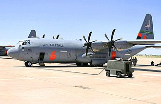 146th Airlift Wing - 115th Airlift Squadron Modular Airborne Firefighting System (MAFFS) C-130J Hercules aerial firefighter