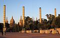 118 Pg. Minici Natal, al fons el Palau Nacional.jpg