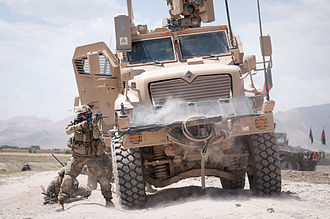 504th Infantry Regiment (United States) - A U.S. Army paratrooper with the 82nd Airborne Division's 1st Brigade Combat Team fires at insurgents during a firefight 30 June 2012, Ghazni Province, Afghanistan.