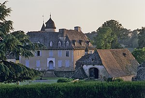 Calvinet - Chateau of la Mothe