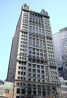 Park Row (Manhattan) street in New York City