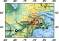 1663 Charlevoix earthquake location.png