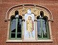 171 Hospital de Sant Pau, edifici d'Operacions, mosaic de Sant Cosme.JPG