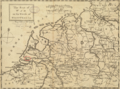 1757 Rotterdam detail of map Seat of War in the Circle of Westphalia BPL 14521.png
