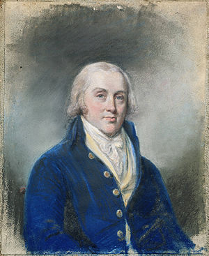 James Madison - Madison at Princeton University. Portrait by James Sharples.