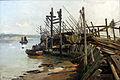 1882 Petersen-Angeln Bootssteg an der Flensburger Förde anagoria.JPG