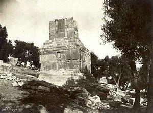 Libyco-Punic Mausoleum of Dougga - Libyco-Punic mausoleum before its renovation