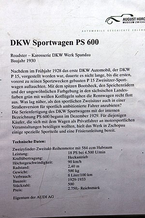 DKW Typ P - Image: 1930 DKW Sportwagen PS 600 IMG 3065 Flickr nemor 2