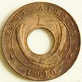 1930 East African 1 cent coin reverse.jpg