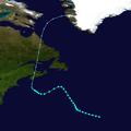 1932 Atlantic tropical storm 7 track.png