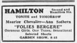 <i>Folies Bergère de Paris</i> 1935 film by Roy Del Ruth